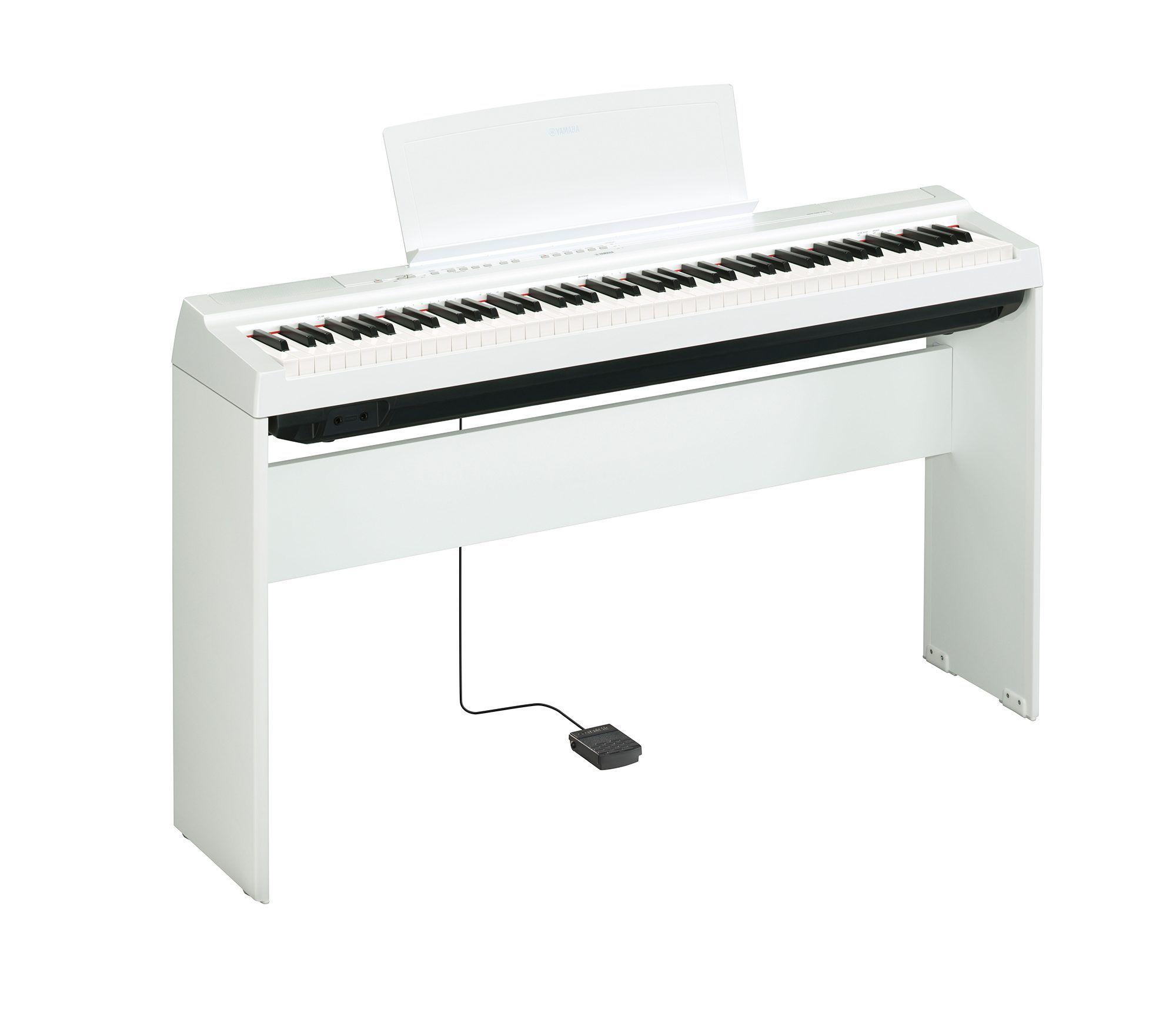 YAMAHA P 125 WH pianino cyfrowe do nauki gry
