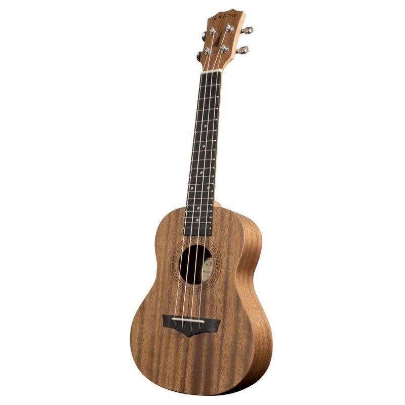 ARROW MH10 MH ukulele koncertowe z pokrowcem mahoń