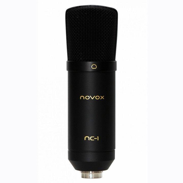 NOVOX NC-1 BK mikrofon pojemnościowy studyjny USB