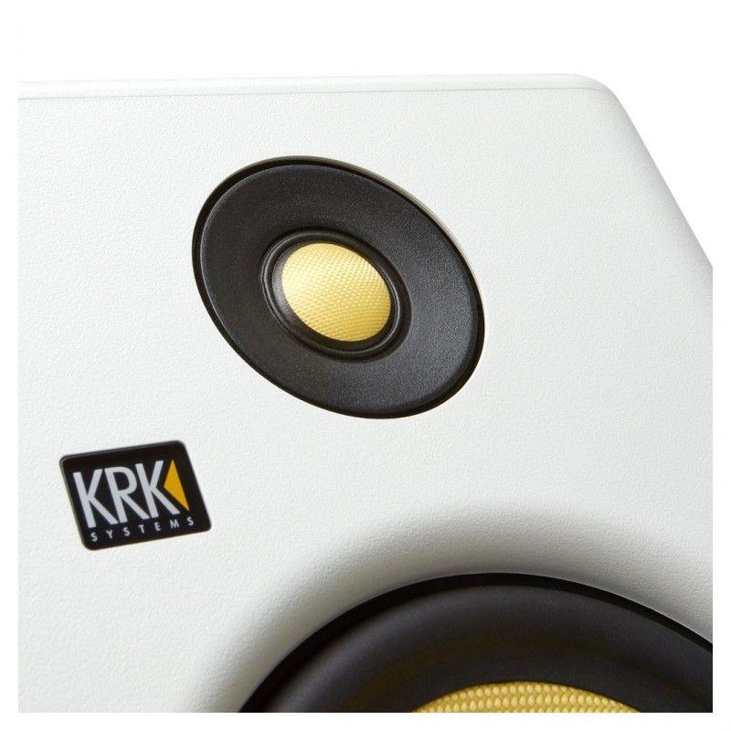 KRK RP7 G4 WH biały monitor studyjny odsłuch