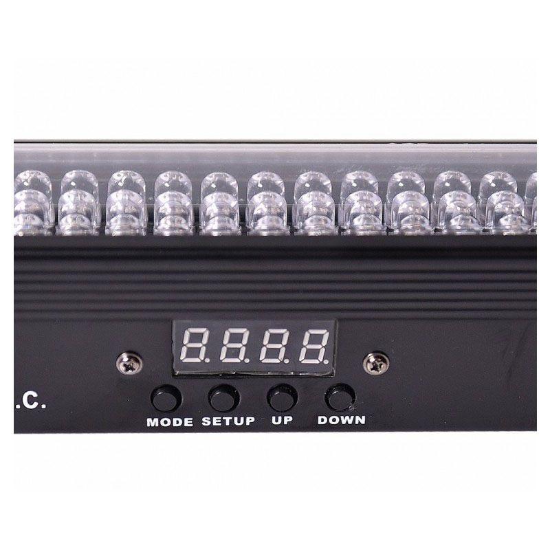 LIGHT4ME BASIC LIGHT BAR LED 16 RGB IR listwa BK