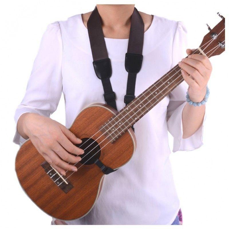 NN UK 06 pasek do ukulele na szyję regulowany