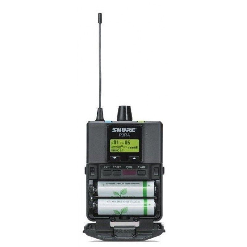 SHURE PSM 300 bezprzewodowy odsłuch P3TRA215CL