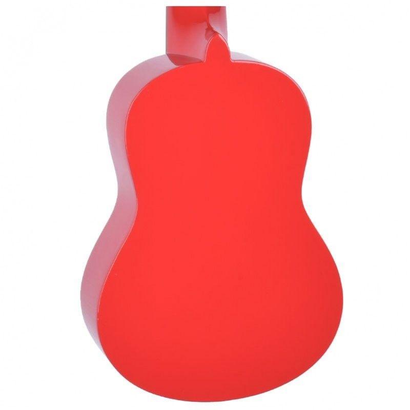HARLEY BENTON UK 12 - czerwone ukulele sopranowe