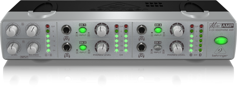 BEHRINGER AMP 800 wzmacniacz słuchawkowy 4 kanały