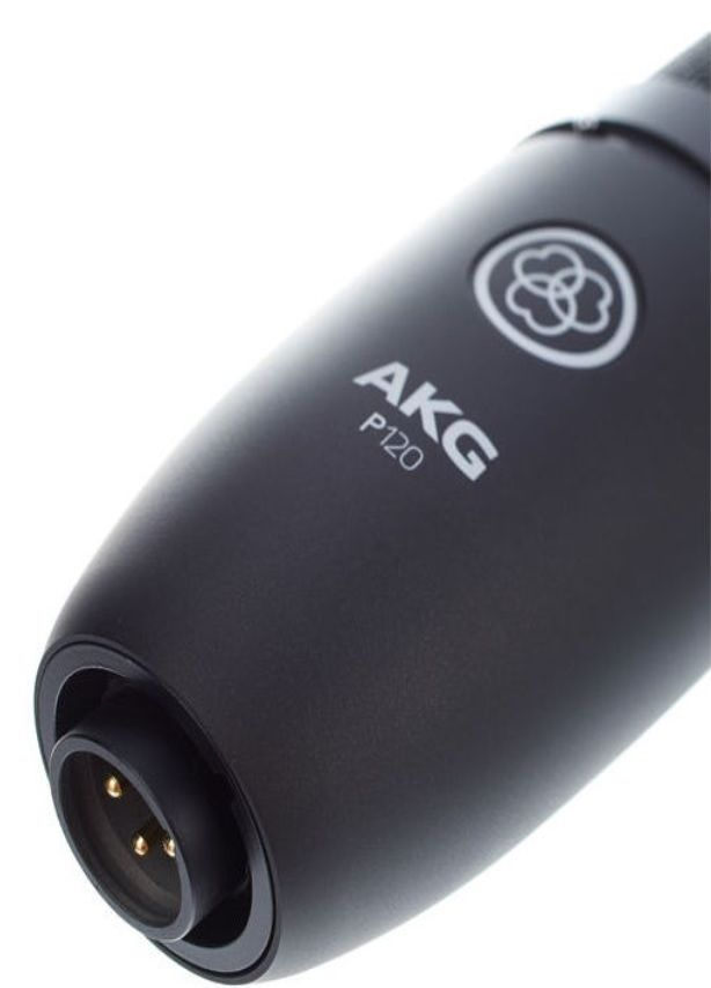 AKG P 120 mikrofon pojemnościowy studyjny XLR