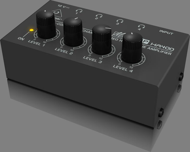 BEHRINGER HA 400 wzmacniacz słuchawkowy splitter