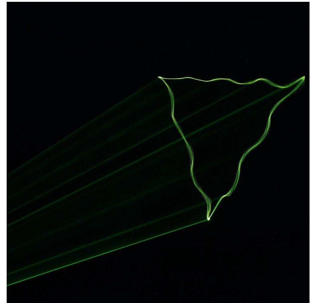 CAMEO WOOKIE 150 G laser zielony