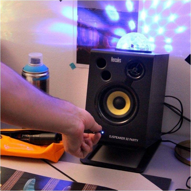 HERCULES DJ SPEAKER 32 PARTY monitory efekt LED
