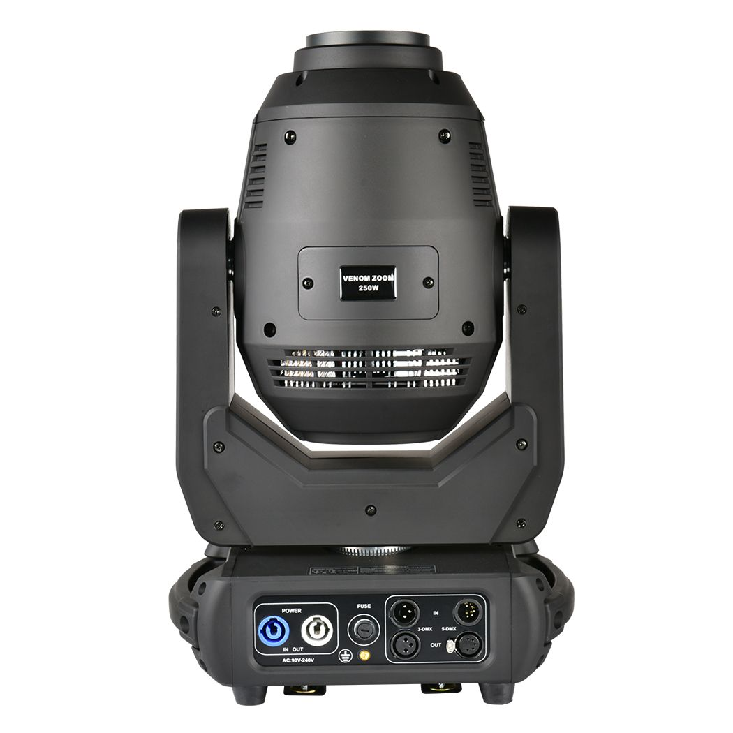 LIGHT4ME VENOM ZOOM 250 głowica ruchoma LED 250W