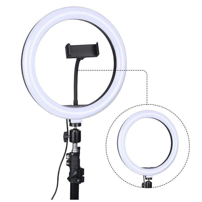 NN CLS06 lampa pierścieniowa selfie makijaż statyw