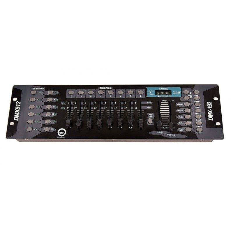 LIGHT4ME BASIC 192 DMX CONTROLLER sterownik DMX