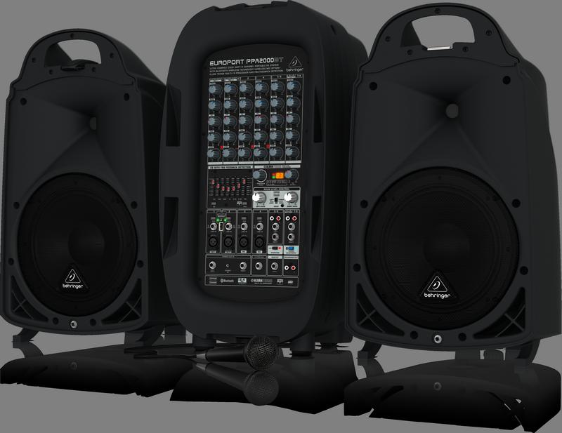 BEHRINGER PPA 2000 BT system nagłośnieniowy