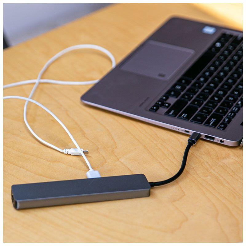 NN ADAPTER 7w1 hub rozdzielacz USB SD TF HDMI PD