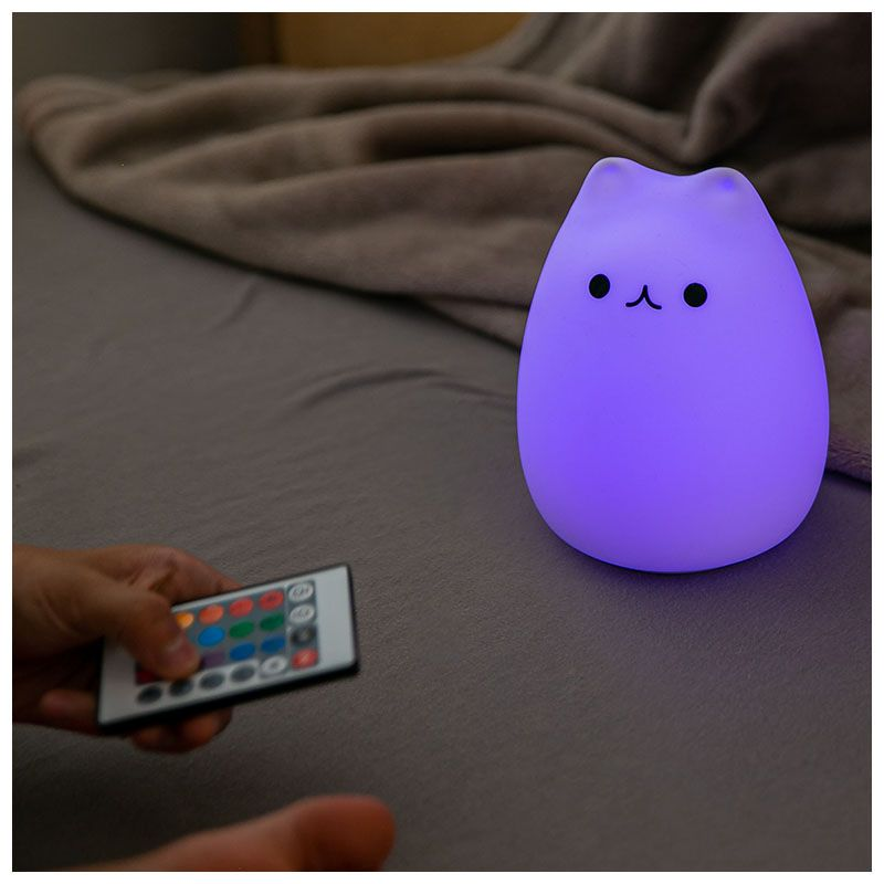 NN CUTE CAT lampka nocna dla dzieci kotek LED USB