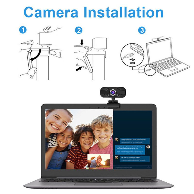 NN CX52 kamera internetowa USB na monitor 1080 pix