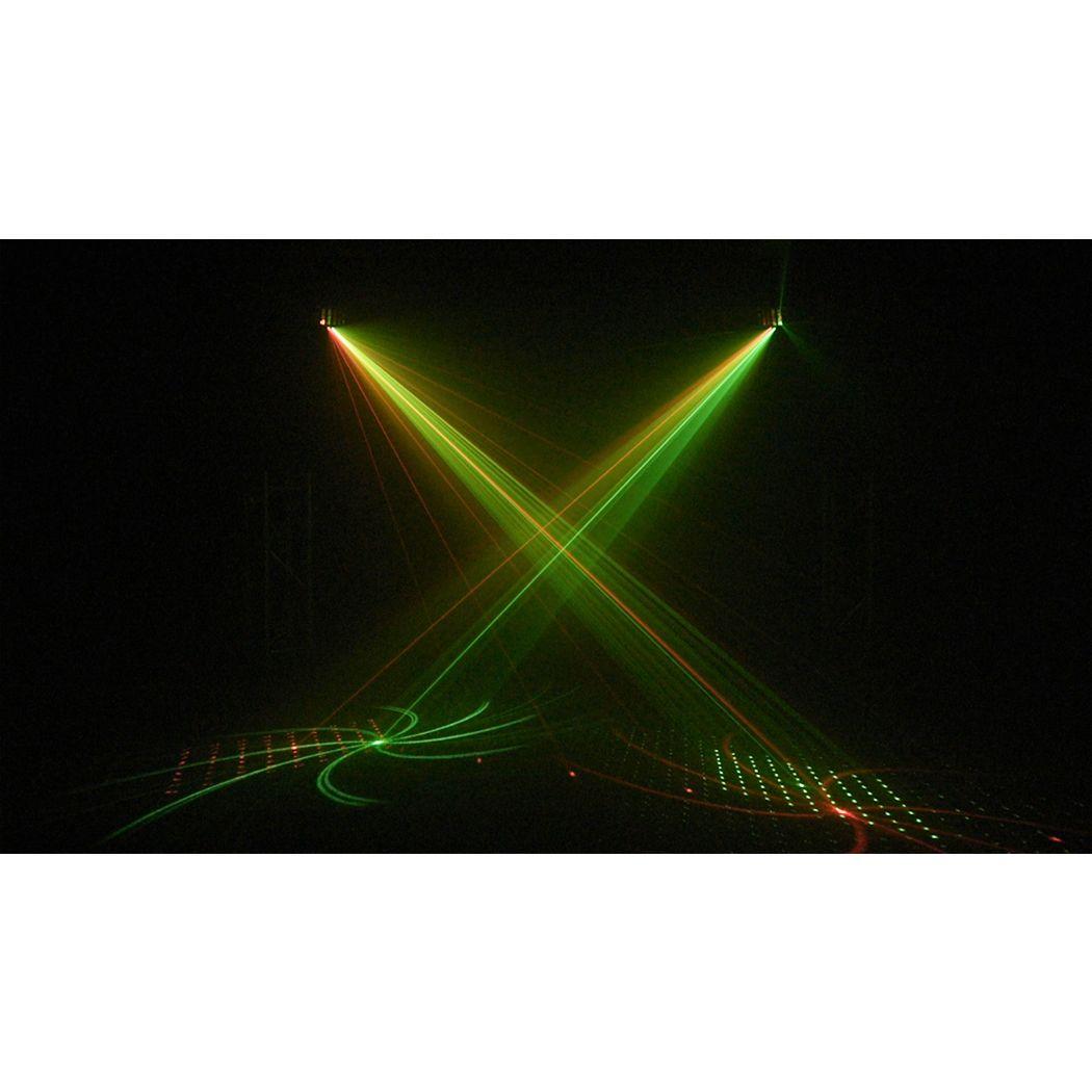 LIGHT4ME TURBO DERBY + LASER + UV + STROBO + PILOT