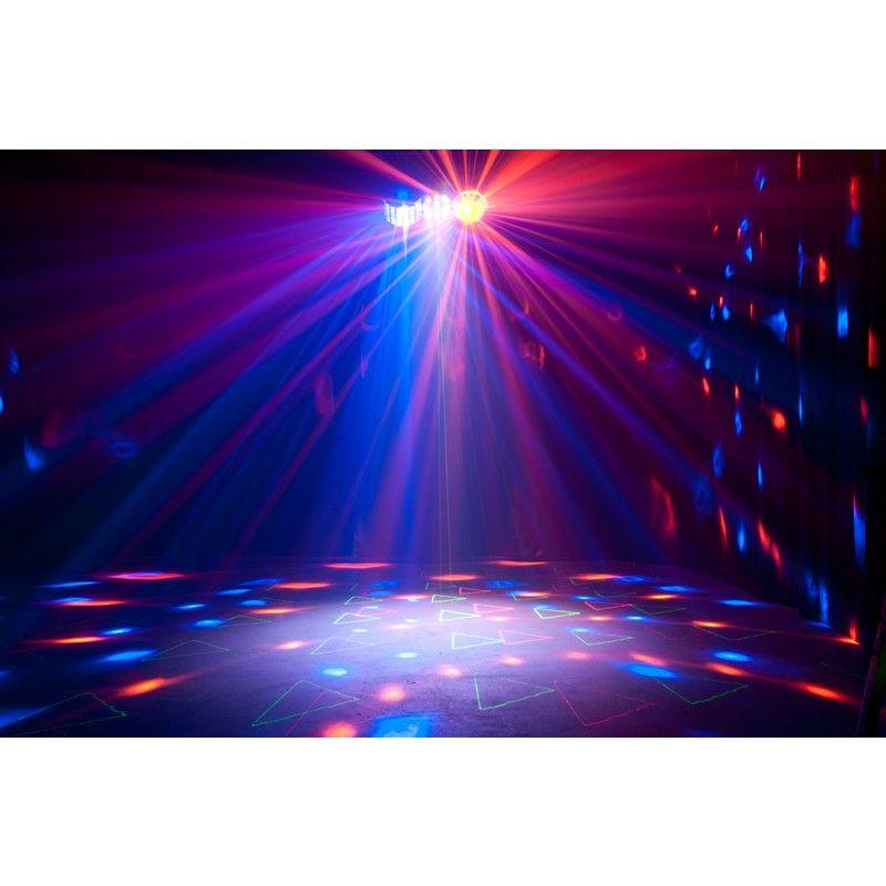 LIGHT4ME PARTY IV MULTIEFEKT DERBY FLOWER LASER