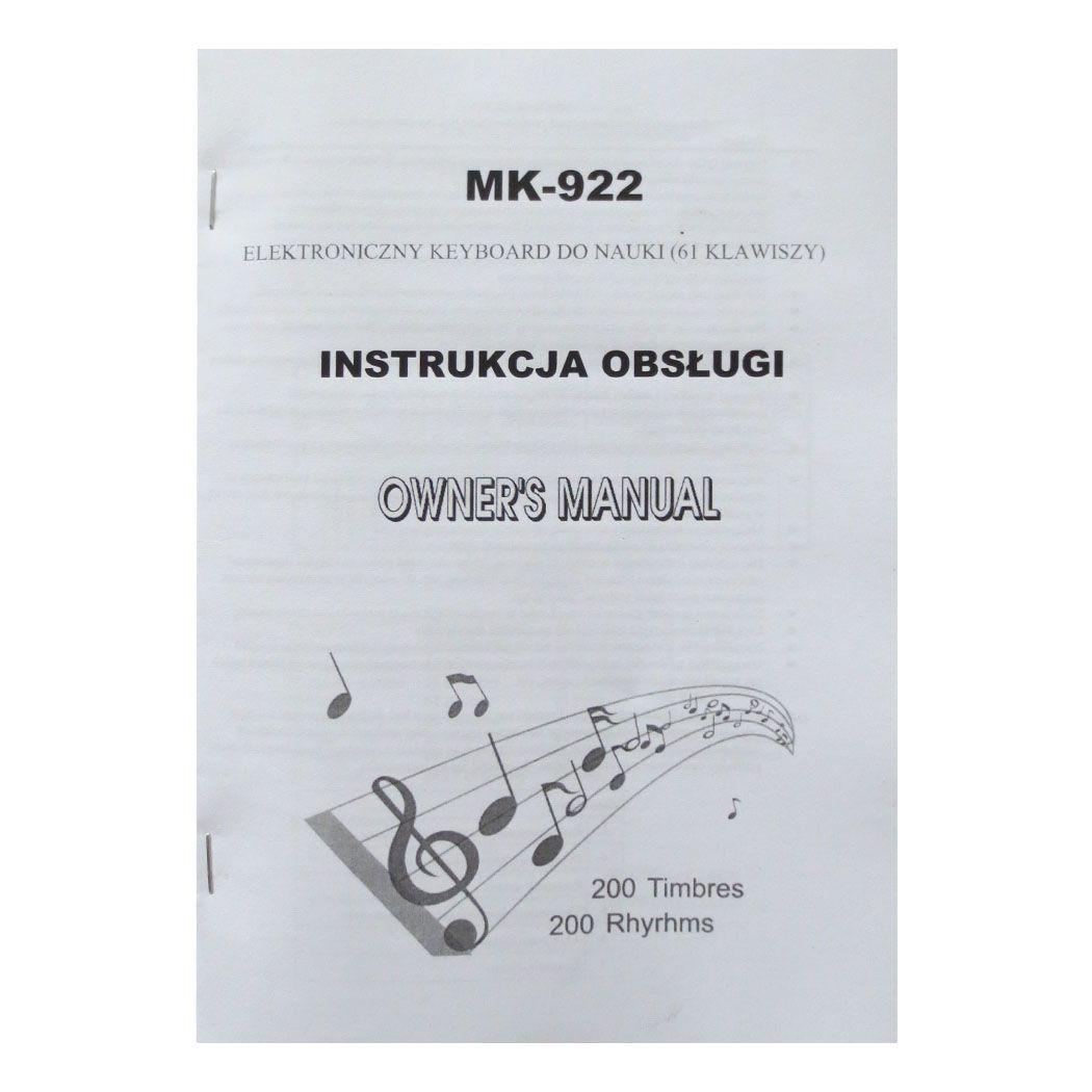 MK 922 KEYBOARD klawisze organy dla dzieci do nauki gry