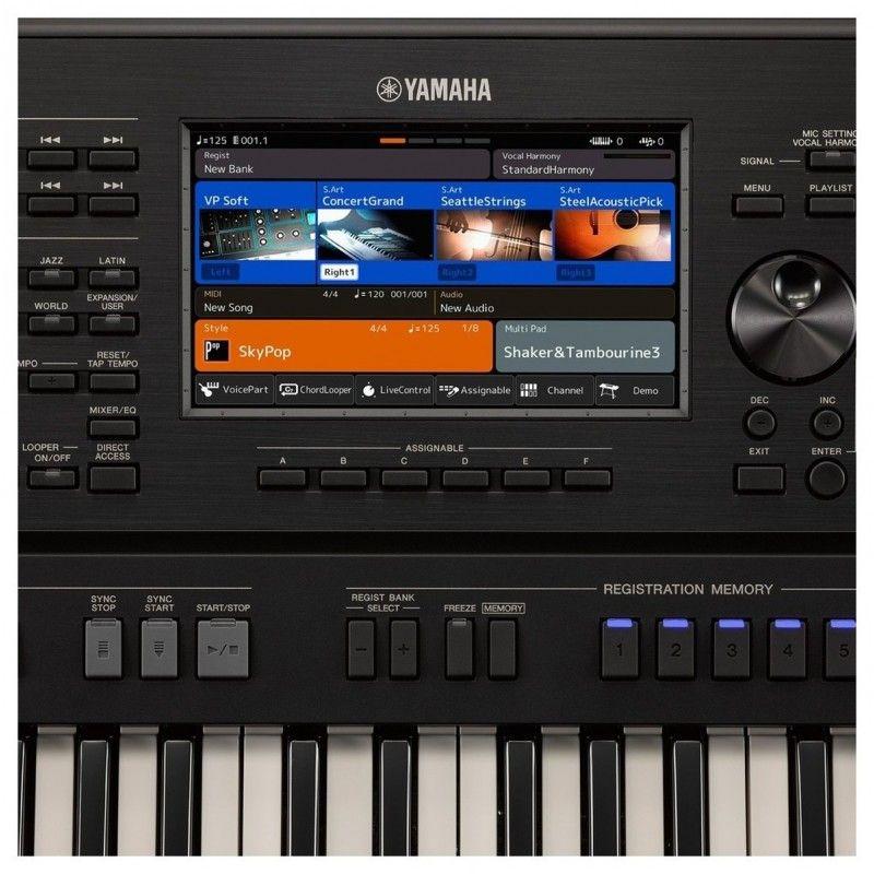 YAMAHA PSR SX900 keyboard aranżer workstation
