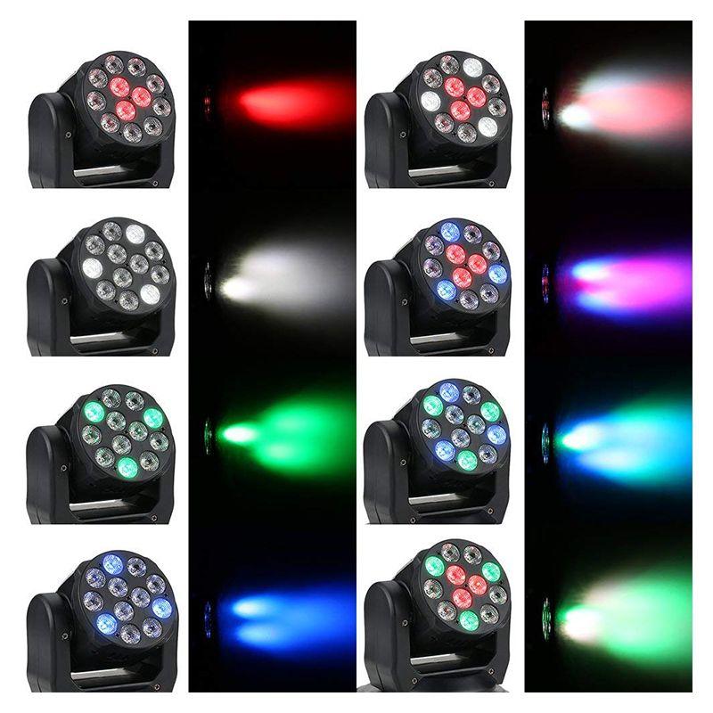 LIGHT4ME MINI WASH 12x4 RGBW głowica ruchoma LED