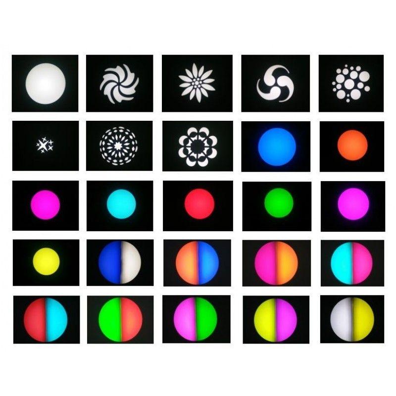 LIGHT4ME SMART SPOT 60 W PRISM głowa ruchoma LED