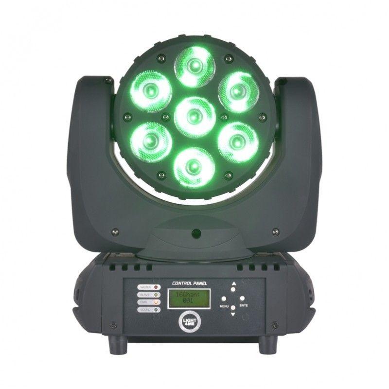 LIGHT4ME BEAM 712 głowica ruchoma LED RGBW