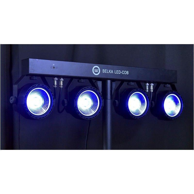 LIGHT4ME BELKA LED COB PAR 4x30W statyw pokrowiec