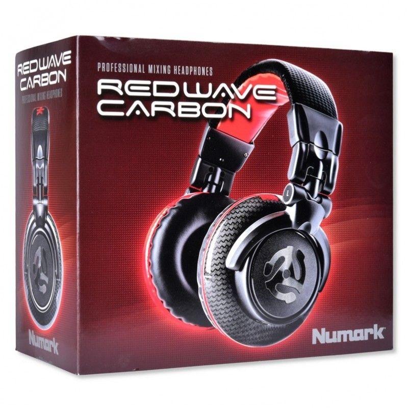 NUMARK RED WAVE CARBON nauszne słuchawki DJ 24 Ohm