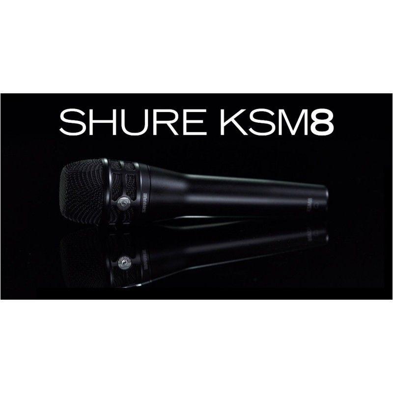 SHURE KSM 8 B mikrofon dynamiczny 2-membranowy