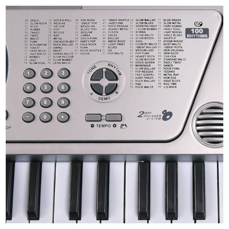 MQ 5407 KEYBOARD organy z mikrofonem dla dzieci