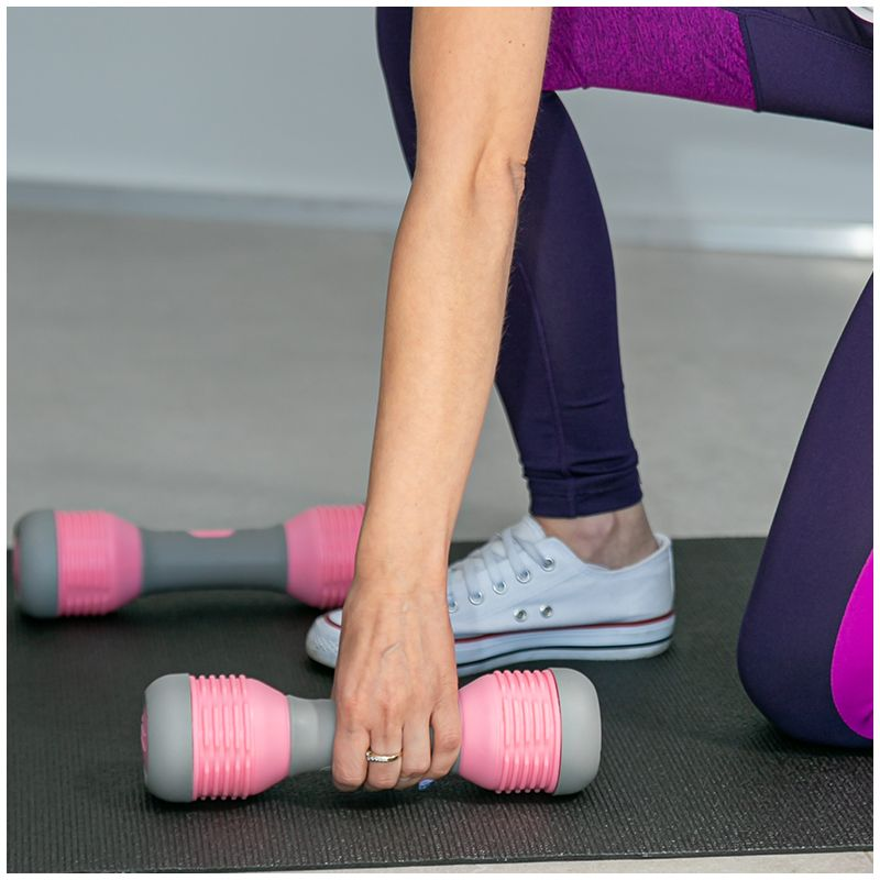 NN HANTLE 2x3 6KG dla kobiet do ćwiczeń fitness
