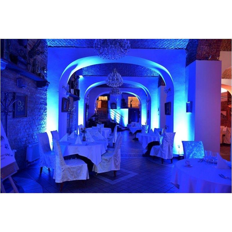 LIGHT4ME FLAT TRI PAR 7x9W RGB LED slim