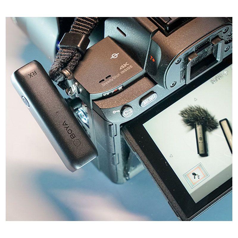 BOYA BY-WM3D bezprzewodowy system mikrofonowy