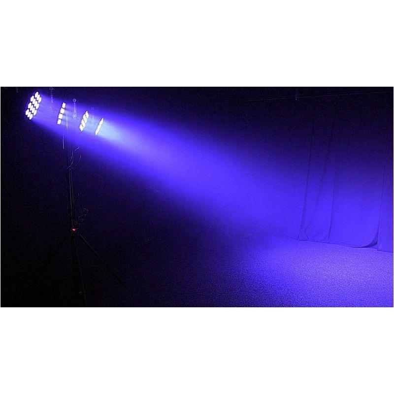 LIGHT4ME ALU QUAD PAR mocny par 14 x 10W RGBW IEC