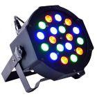 LIGHT4ME BASIC FLAT PAR 18x3W RGB LED płaski IEC