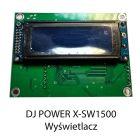 S. DJ POWER X-SW1500 WYŚWIETLACZ