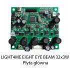 S. LIGHT4ME EIGHT EYE BEAM 32x3W RGBW PŁYTA GŁÓWNA