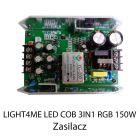 S. LIGHT4ME LED COB 3in1 RGB 150W ZASILACZ