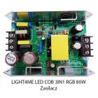 S. LIGHT4ME LED COB 3in1 RGB 80W ZASILACZ