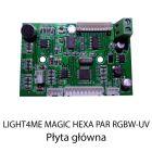 S. LIGHT4ME MAGIC HEXA PAR RGBW-UV PŁYTA GŁÓWNA