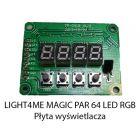 S. LIGHT4ME MAGIC PAR 64 LED RGB 177 PŁYTA WYŚWIET