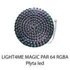 S. LIGHT4ME MAGIC PAR 64 RGBA PŁYTA LED