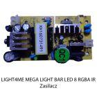 S. LIGHT4ME MEGA LIGHT BAR LED 8 RGBA IR ZASILACZ