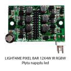 S. LIGHT4ME PIXEL BAR 12x4W IR RGBW PŁYTA NAPĘDU L