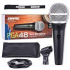SHURE PGA 48 QTR mikrofon dynamiczny przewód jack